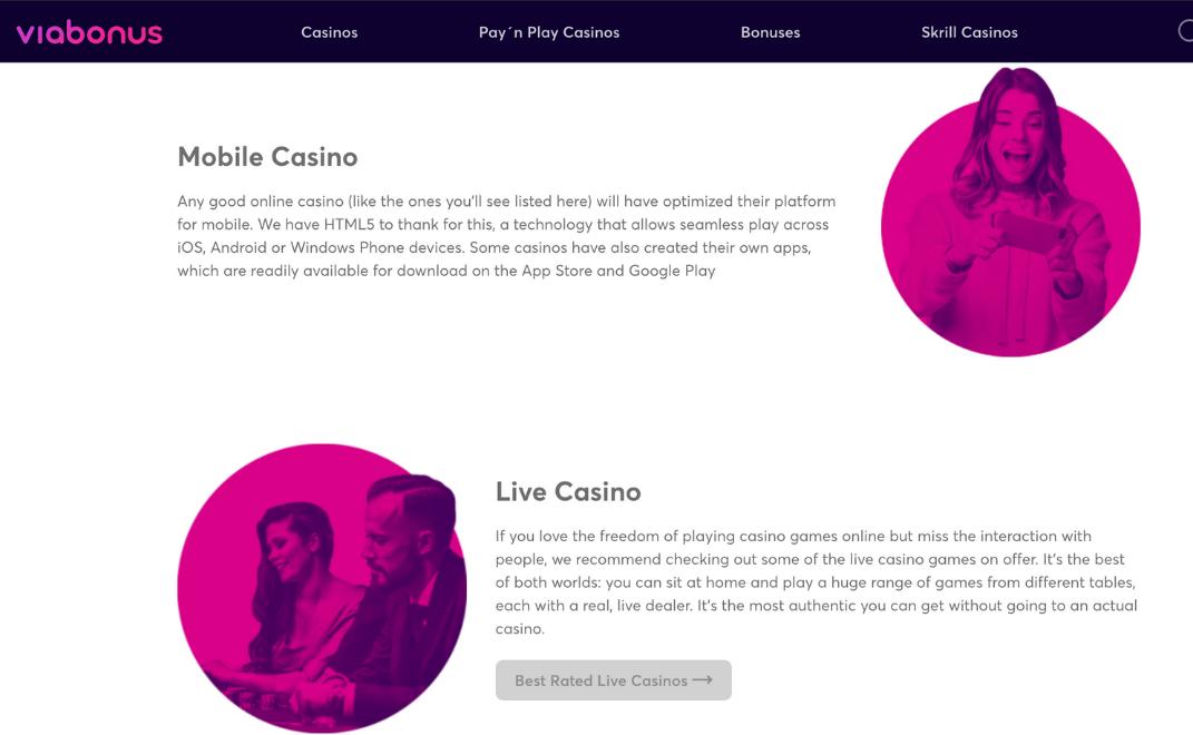 Best Casino Bonuses | Viabonus.com